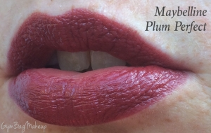 This is one of my all time favorite lipsticks.  It is a perfect vampy color that is a true plum shade.  It even has that warmth that is reminiscent of the yellow fleshy part of the fruit. This wears beautifully and fades to a very nice rosy color.  The only down side is that it smells a bit like playdo initially but the scent doesn't linger for long after application.