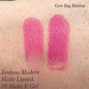 It Girl has a bit more purple to it than is showing up in either of these swatches.