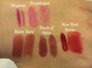 Those are some high quality swatches right there. O_o