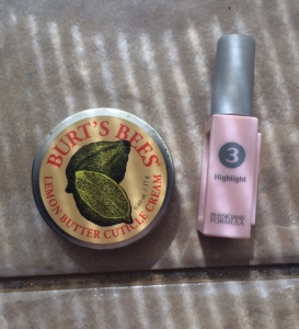 july_2015_empties_burts_bees_cuticle_balm_and_physicians_formula_highlighter
