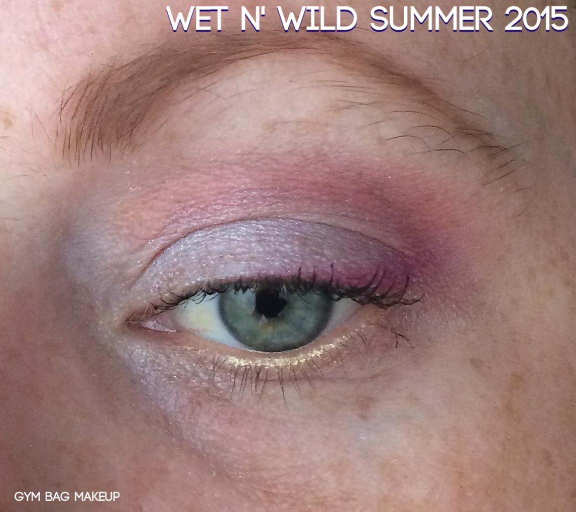 Wet N Wild Summer 2015 Eyeshadow Palettes Gym Bag Makeup Au Naturel Palette Wnw Compilation Look Red Silver Purple Open
