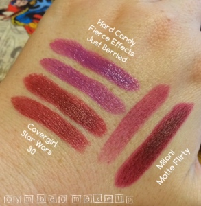 drugstore_lipstick_haul_10_2015_swatches_indoor_light