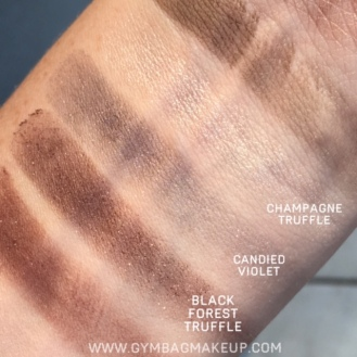 champagnetruffle_candiedviolet_blackforesttruffle_swatch_ds
