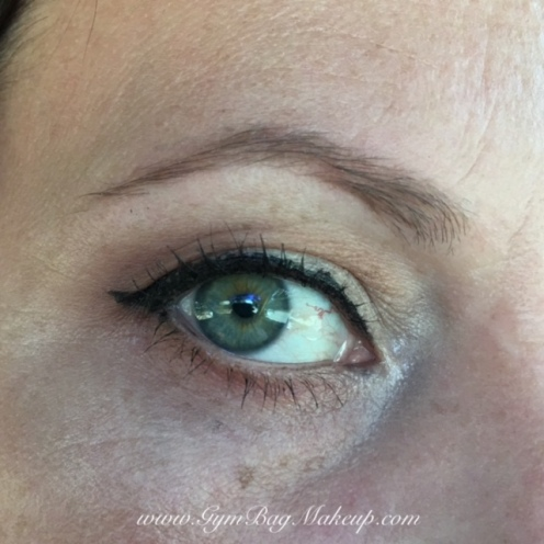 6 - base/highlight/lid shade. 2 - transition and blending lower lash line. 8 - outer corner and to line the lower lash line. 1 - inner corner. KVD Trooper liner. UD Zero to tightline. Rimmel Nude Liner in the waterline. Rollerlash. Nuance brow powder.