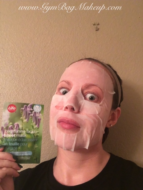 life_brightening_facial_sheet_mask_on_the_face