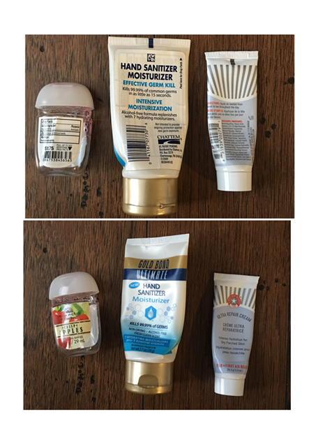 August 2016 Empties Gym Bag Makeup
