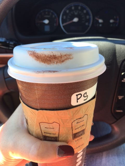 It did seem to transfer a bit more the longer I wore it. This is about 1-2 hours after application. Could be that my PSL (yes I'm one of those people) has more oil in it. Actually I know it does.