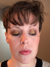 """On my face: Rimmel Stay Matte powder all over, elf Tone Correcting Powder """"Cool"""" in the t-zone, MPZ PCP & MDMA Blushes, Notoriously Morbid """"It's Just A Dream"""" (LE) highlight. I did the same thing on my face for every look in this post."""