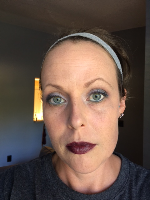 Face: Revlon Colorstay Whipped in Medium Beige. Lips - My Pretty Zombie The Vapors
