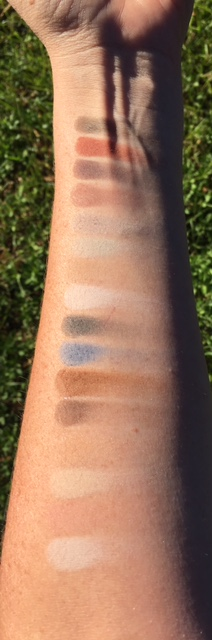Matte shades in direct sunlight