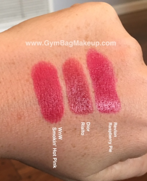 wet_n_wild_megalast_smokin_hot_pink_swatch_comparisons