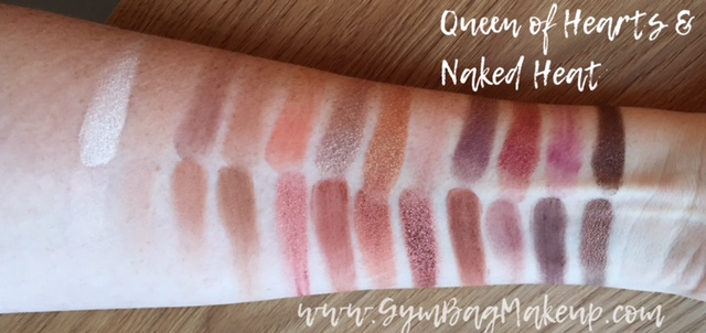 I never realized how difficult it is to do swatches going in the other direction.